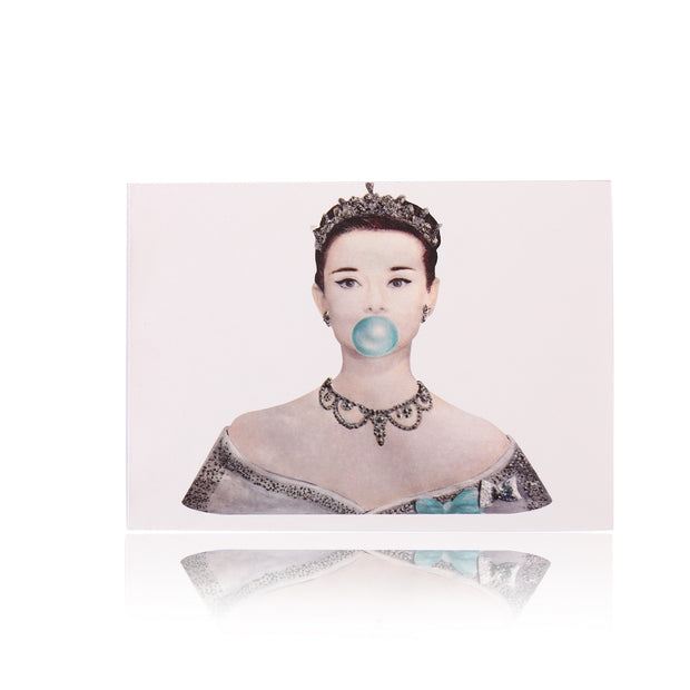 All Occasion Greeting Card: Be like Audrey, Be a Princess