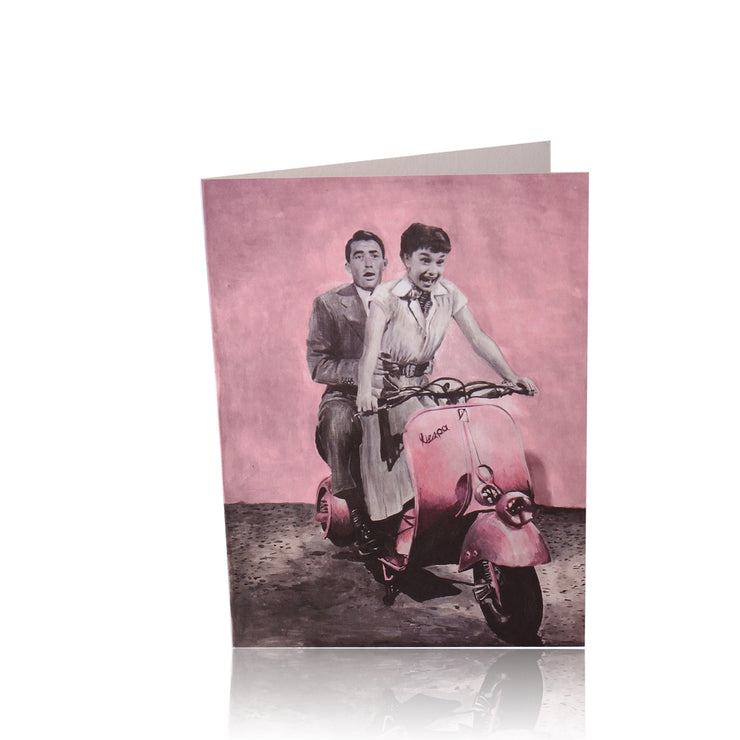 All Occasion Greeting Card: Let's ride away to our Kingdom - Utopiat