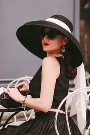Holly Oversized Wool Hat Inspired By Breakfast At Tiffany's