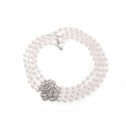 Mini Holly 5 Strand Pearl Necklace - Breakfast At Tiffany's