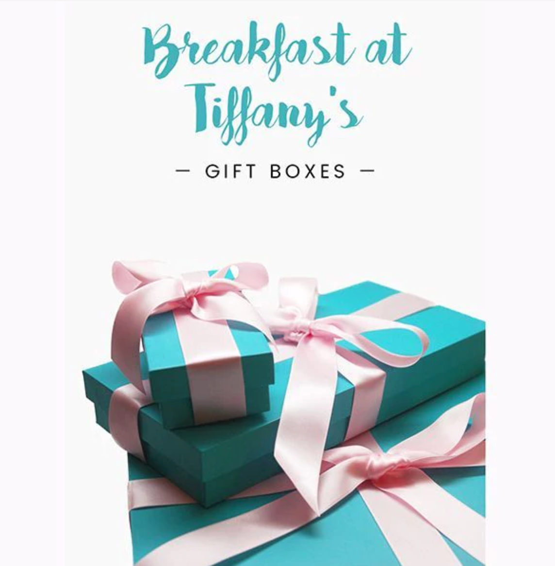 416a5cf172 Audrey Hepburn - the Breakfast at Tiffany's Gift Boxes ∣ Utopiat