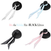 Miu- The Holiday Hat In Black Inspired By Audrey Hepburn - Utopiat