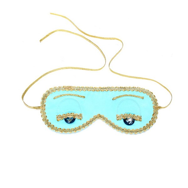 Holly Gift Boxed Sleep Mask in Tiffany Turquoise Inspired By Breakfast at Tiffany's - Utopiat