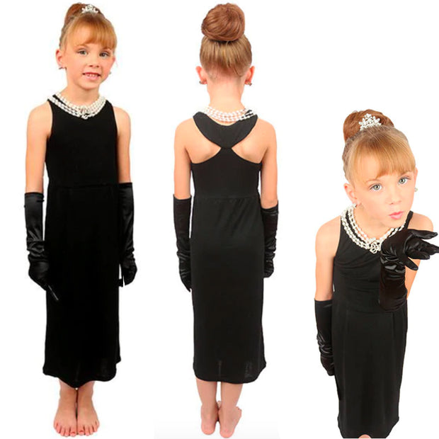 Mini Holly Complete Cotton Costume Set Inspired By Breakfast At Tiffany's - Utopiat