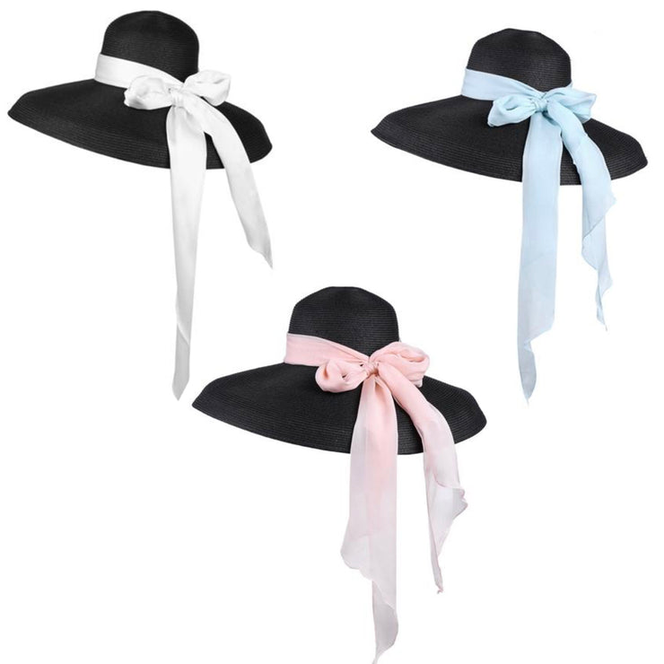 Miu- The Holiday Hat In Black, Audrey Hepburn Inspired