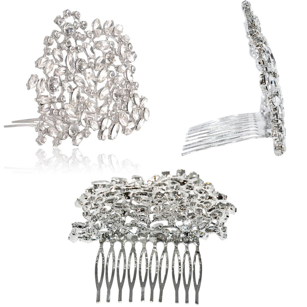 Holly Premium Crystal Tiara Inspired By Breakfast At Tiffany's - Utopiat