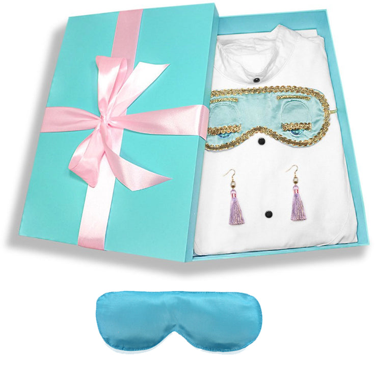 Holly Gift boxed Sleep Set Earrings Inspired By Breakfast At Tiffany's