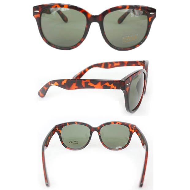 Holly Iconic Tortoise Shell Sunglasses - Breakfast At Tiffany's
