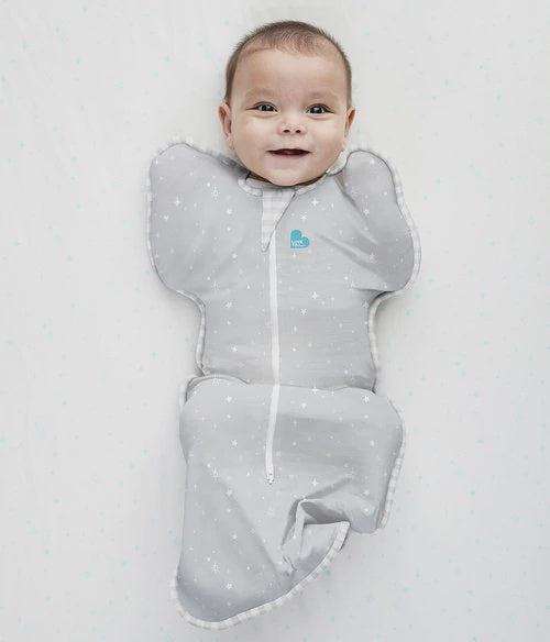 Love To Dream SWADDLE UP Bamboo Lite 0.2 TOG GREY