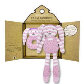 Organic Farm Buddies Gift Set - Hip Hop Bunny