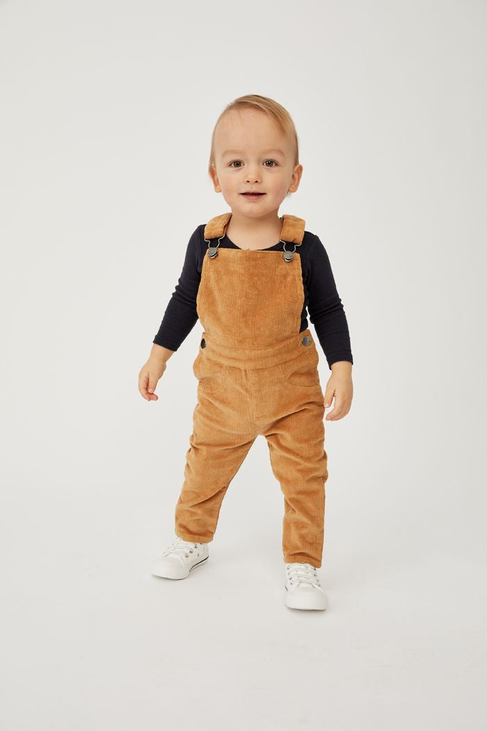 Caramel Cord Overall