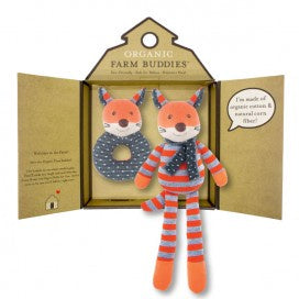 Organic Farm Buddies Gift Set - Frenchy Fox