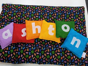 Personalised Name Bean Bag set