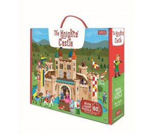 Sassi Book and Giant Puzzle - THE KNIGHT'S CASTLE