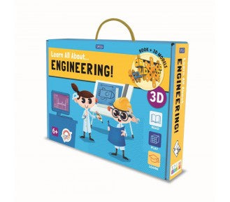 Sassi Book and Model Set - Learn all about Engineering