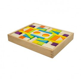 Artiwood Wooden Block Tray - 54 pieces