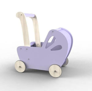 Moover Line Dolls Pram - Light Purple