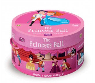 Sassi Book and Giant Puzzle - THE PRINCESS BALL