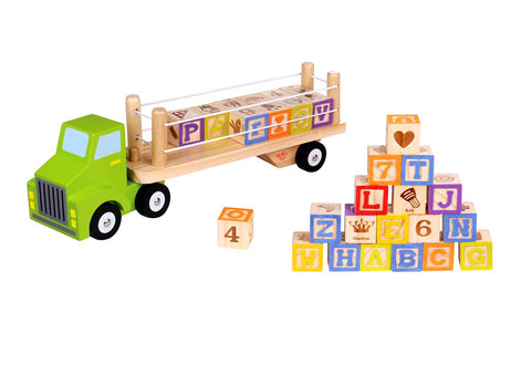Alphabet and Number Truck