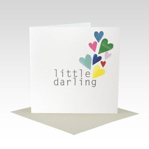 Little Darling Hearts Card