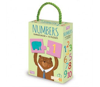 Sassi Puzzle and Book - NUMBERS