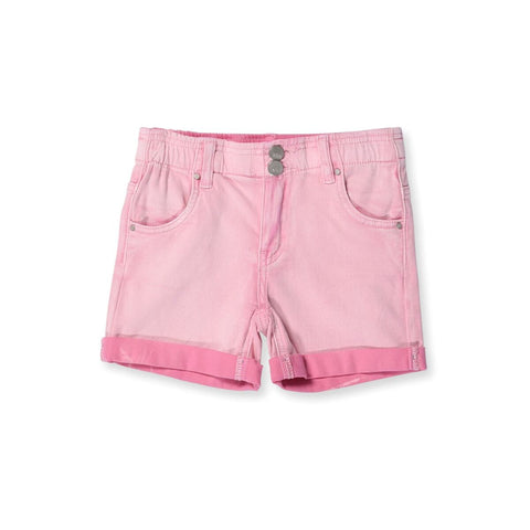 Stroll Denim Shorts - Pink Wash