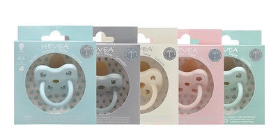 Hevea Colour Pacifier - Round 3-36 months