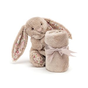 Jellycat Bashful Blossom Bea Beige Bunny Soother