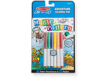 ADVENTURE On the Go Magic Pattern activity pad