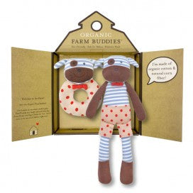 Organic Farm Buddies Gift Set - Boxer Dog