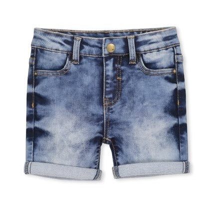 Knit Denim Short