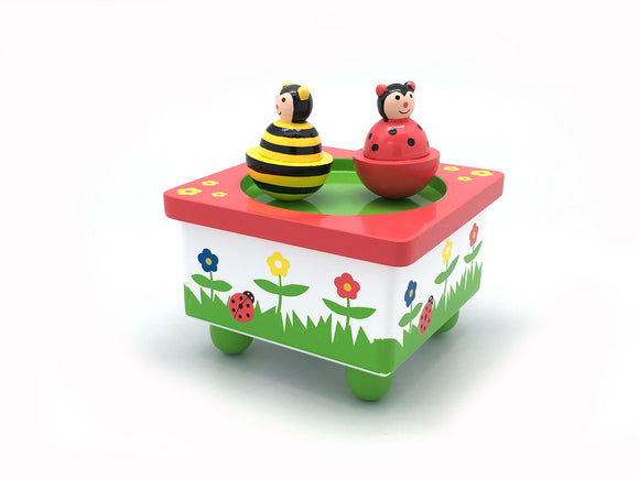 Bee and Ladybird Music Box