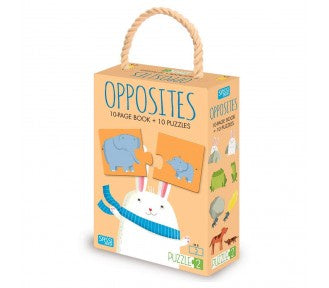 Sassi Puzzle and Book - OPPOSITES