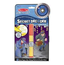 On the go SECRET DECODER