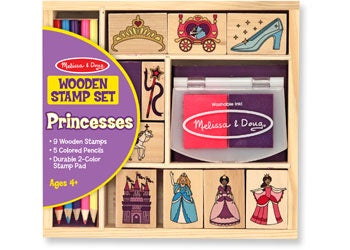 Wooden Stamp Set - PRINCESS