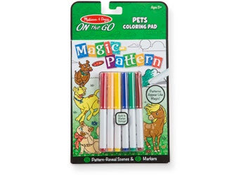 On the Go Magic Pattern activity pad - PETS