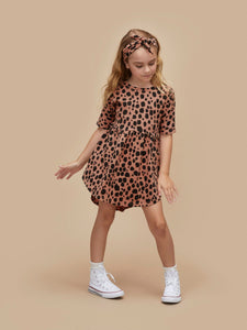 Ocelot Swirl Dress
