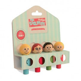Indigo Jamm Peg People Family Set