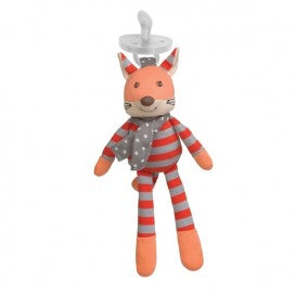 Organic Farm Pacifier Buddy - Frenchy Fox