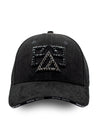 CASQUETTE BBLZ  PARIS BLACK STRASS