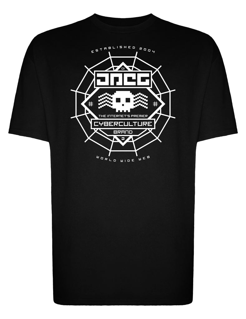 Web Crawler Unisex T-Shirt - JPEG Cyber Store Goth Geek Alternative Clothing