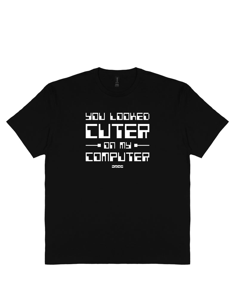 On My Computer Unisex T-Shirt - JPEG Cyber Store Goth Geek Alternative Clothing