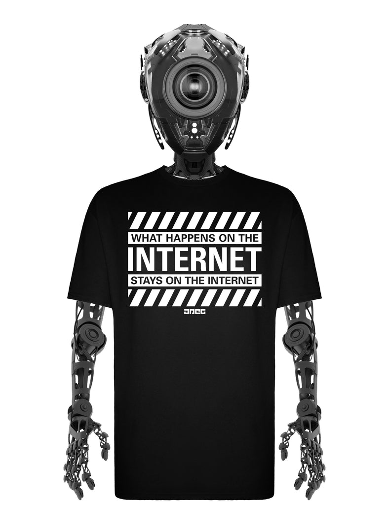 On The Internet Unisex T-Shirt - JPEG Cyber Store Goth Geek Alternative Clothing