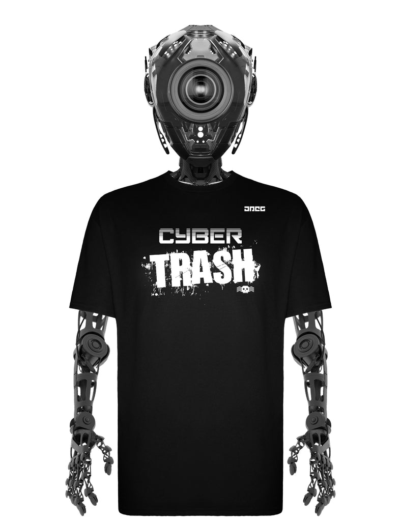 Cyber Trash Unisex T-Shirt - JPEG Cyber Store Goth Geek Alternative Clothing