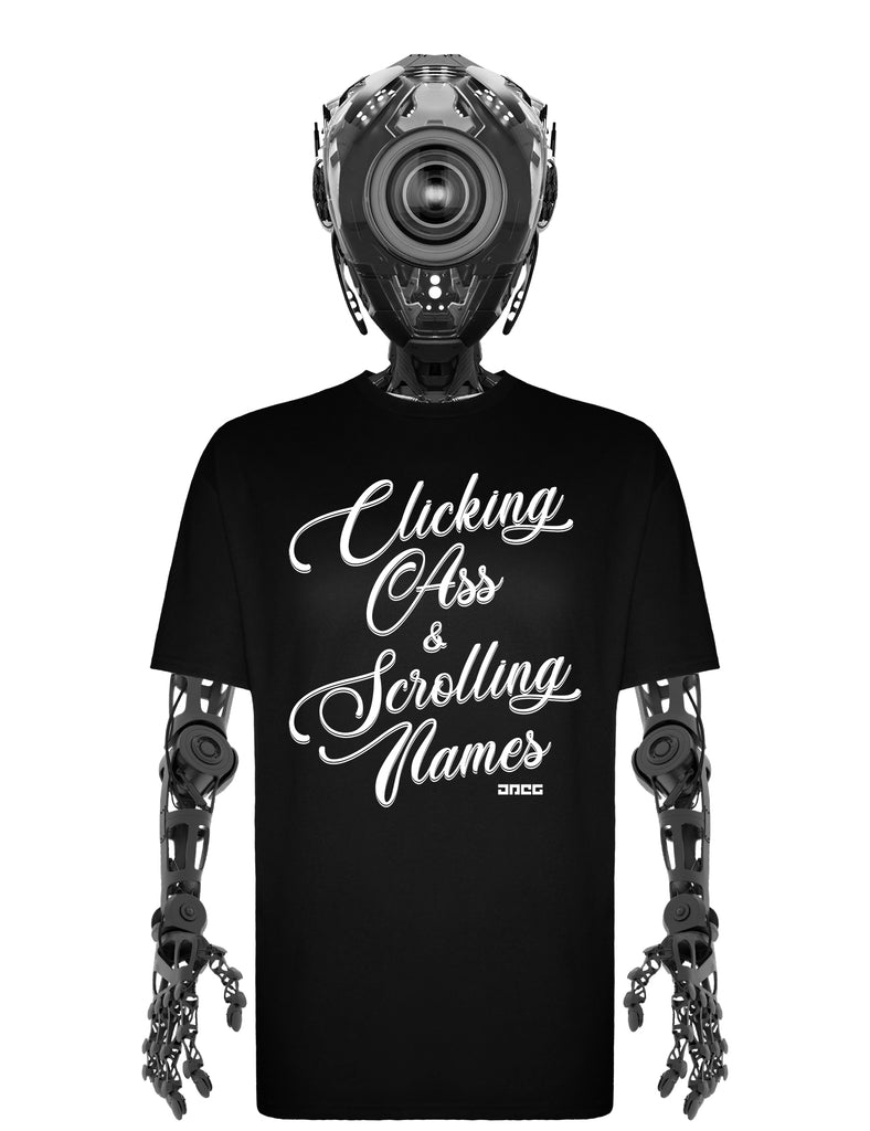 Clicking & Scrolling Unisex T-Shirt - JPEG Cyber Store Goth Geek Alternative Clothing
