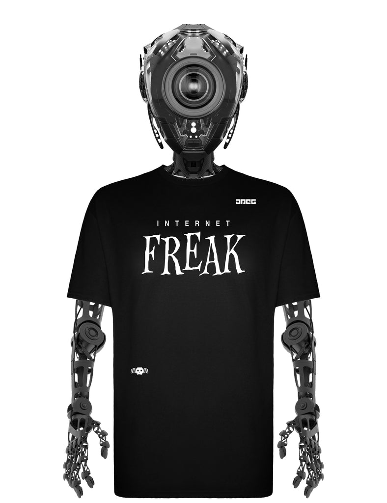 Internet Freak Unisex T-Shirt - JPEG Cyber Store Goth Geek Alternative Clothing