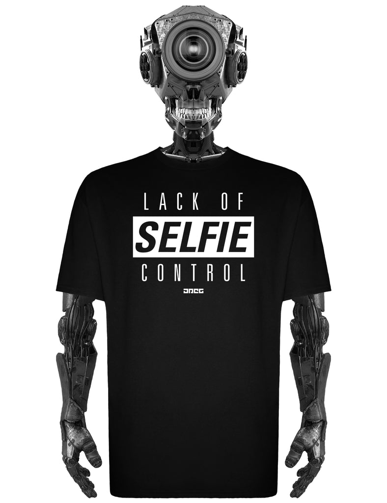 Selfie Control Unisex T-Shirt - JPEG Cyber Store Goth Geek Alternative Clothing