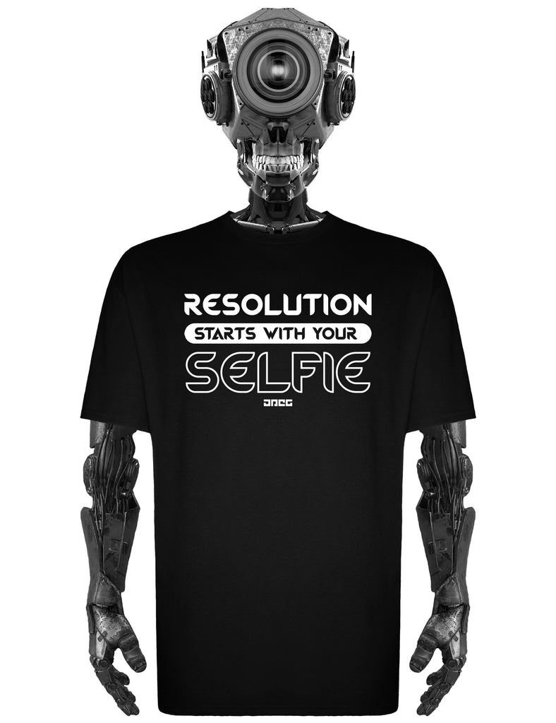 Resolution Unisex T-Shirt - JPEG Cyber Store Goth Geek Alternative Clothing