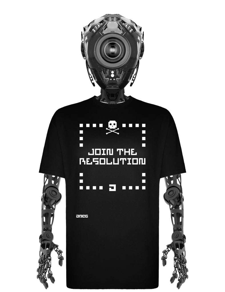 Join The Resolution Unisex T-Shirt - JPEG Cyber Store Goth Geek Alternative Clothing