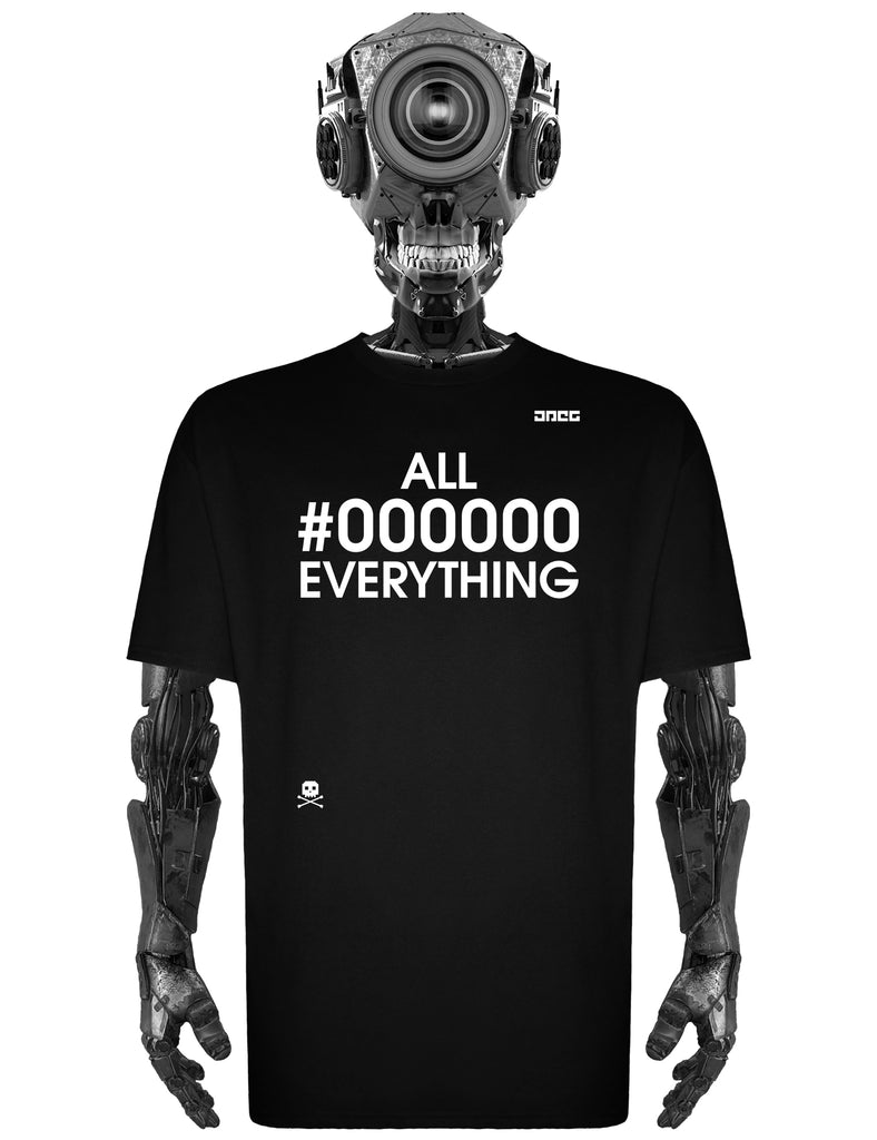 All #000000 Everything Unisex T-Shirt